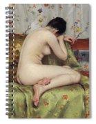 A Modern Magdalen Spiral Notebook