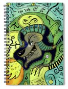 Anubis Spiral Notebook