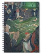 At The Roulette Table In Monte Carlo  Spiral Notebook