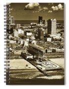 Atlantic City Spiral Notebook