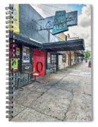 Austin Continental Club  Spiral Notebook