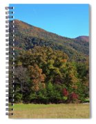 Autumn Colours In Great Smoky Mountains National Park Spiral Notebook
