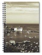 Avalon Harbor - Catalina Island, California Spiral Notebook
