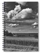 Beautiful Iowa Farm Scene Spiral Notebook