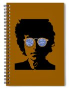 Bob Dylan Blowin In The Wind Spiral Notebook