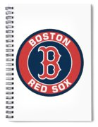 Boston Red Sox Spiral Notebook