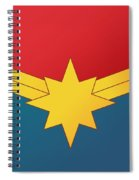 Captain Marvel 2019  Spiral Notebook