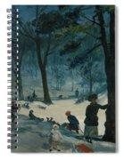 Central Park, Winter Spiral Notebook