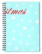 Christmas Spiral Notebook