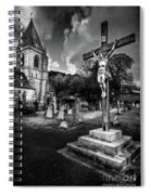 Crucifixion Of Jesus Spiral Notebook