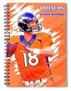 Denver Broncos.peyton Manning. Spiral Notebook