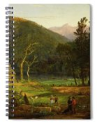 Eagle Cliff, Franconia Notch, New Hampshire Spiral Notebook