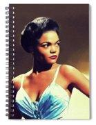 Eartha Kitt, Hollywood Legend Spiral Notebook