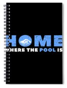 Funny Swimming Swimmer Swim Lifeguard Mermaid Spiral Notebook