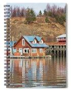 Halibut Cove Kenai Peninsula Alaska Spiral Notebook