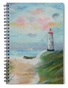 Hickering Harbor Spiral Notebook