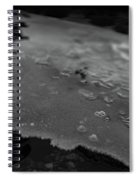 Ice Layer On The Seafloor Spiral Notebook