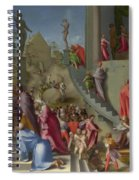 Joseph With Jacob In Egypt  Spiral Notebook