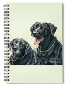 2 Labs Spiral Notebook