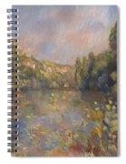 Lakeside Landscape  Spiral Notebook