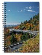 Linn Cove Viaduct - Blue Ridge Parkway Spiral Notebook