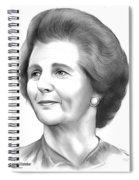 Margaret Thatcher Spiral Notebook