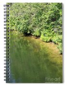 Narrow Cut On The Trent Severn Waterway Spiral Notebook