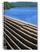 New Croton Dam At Croton On Hudson New York Spiral Notebook
