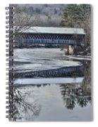 New England College Covered Bridge Spiral Notebook