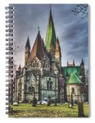 Nidaros Cathedral Spiral Notebook