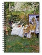 Open Air Breakfast Spiral Notebook