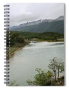 Picturesque Laguna Verde, Tierra Del Fuego National Park, Ushuaia, Argentina Spiral Notebook
