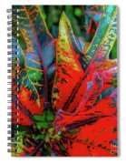 Plants And Leaves Hawaii Spiral Notebook