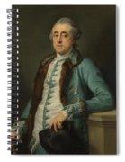 Portrait Of John Scott Of Banks Fee  Spiral Notebook