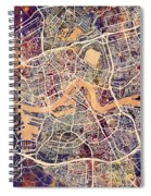 Rotterdam Netherlands City Map Spiral Notebook