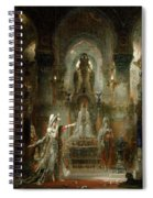 Salome Dancing Before Herod Spiral Notebook