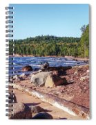 Shores Of Lake Superior Spiral Notebook