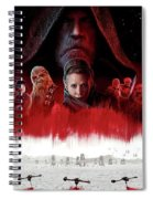 Star Wars The Last Jedi  Spiral Notebook
