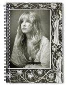 Stevie Nicks Fleetwood Mac Spiral Notebook