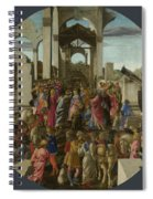 The Adoration Of The Kings  Spiral Notebook
