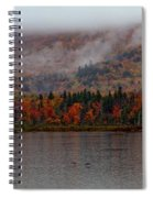 The Basin In Maine Spiral Notebook
