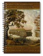 The Falls Of Niagara  Spiral Notebook