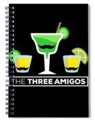 2 The Three Amigos Spiral Notebook