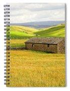 Yorkshire Dales Landscape Spiral Notebook
