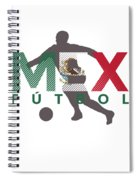 2018 Soccer Cup Mexico Flag Mex Championship Iso Spiral Notebook