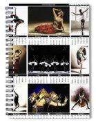 2019 High Resolution R Young Art Dance Calendar - Available Artw Spiral Notebook
