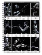 2019 High Resolution R Young Art Musicians Calendar Spiral Notebook