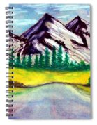 2019#01_mountain Lake Spiral Notebook