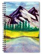 2019#01_mountain Lake Spiral Notebook