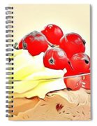 21 Eat Me Now  Spiral Notebook